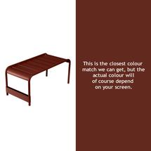 Luxembourg Low Table Large - Red Ochre