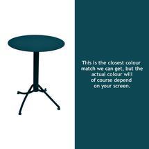 Ariane Round Table - 60cm - Acapulco Blue