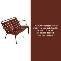 Luxembourg Low Armchair Duo - Red Ochre