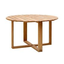 Endless Circular Dining Table -130cm - Teak