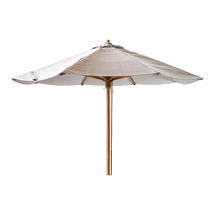 Low Classic Parasol for Peacock Daybed - Mud