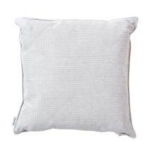 Link Outdoor Scatter Cushion - 50x50cm - Light Grey / White