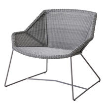 Breeze Lounge Chair - Light Grey
