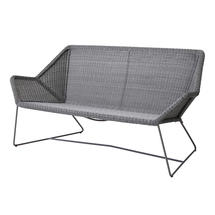 Breeze 2 Seat Lounge Sofa - Light Grey