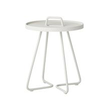 On the Move Side Table - X-Small - White