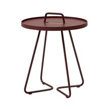 On the Move Side Table - Small - Bordeaux