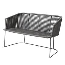 Moments Outdoor Dining Bench - Grey
