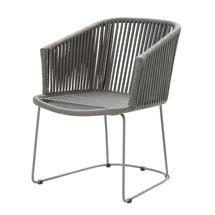 Moments Dining Armchair - Grey