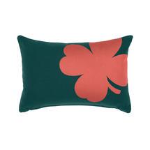 Trefle Cushion 44cm x 30cm – Cedar Green