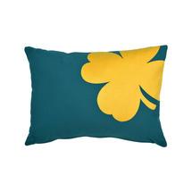 Trefle Cushion 44cm x 30cm – Duck Blue