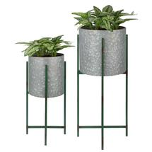 Giverny Zinc Plant Stands - Set of 2