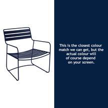 Surprising Low Armchair - Deep Blue