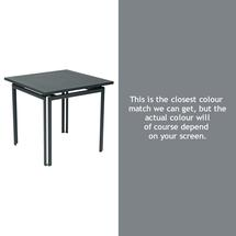Costa Square Table - Storm Grey