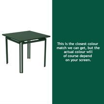 Costa Square Table - Cedar Green