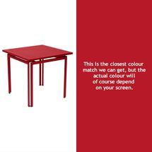 Costa Square Table - Poppy