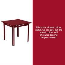 Costa Square Table - Chilli