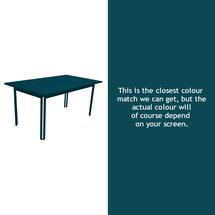 Costa Dining 160x80 Table - Acapulco Blue