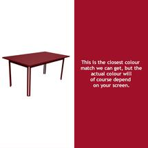 Costa Dining 160x80 Table - Chilli