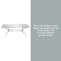 Romane Rectangular 180cm Table - Steel Grey