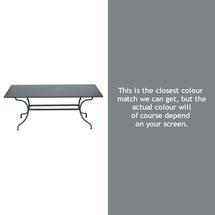 Romane Rectangular 180cm Table - Storm Grey