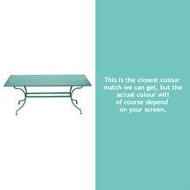 Romane Rectangular 180cm Table - Lagoon Blue