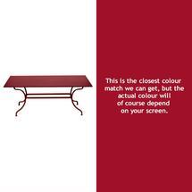 Romane Rectangular 180cm Table - Chilli
