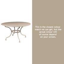 Romane Round 137cm Table - Nutmeg