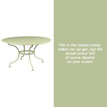 Romane Round 137cm Table - Willow Green