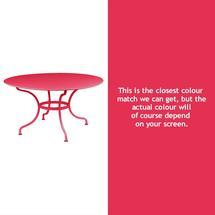 Romane Round 137cm Table - Pink Praline