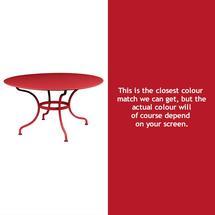 Romane Round 137cm Table - Poppy