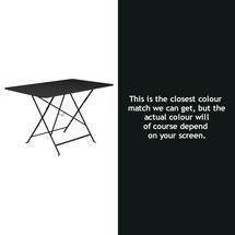 Bistro 117x77 Table - Liquorice