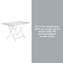 Bistro 117x77 Table - Steel Grey