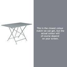 Bistro 117x77 Table - Storm Grey