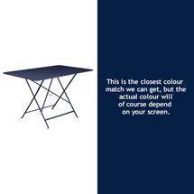 Bistro 117x77 Table - Deep Blue
