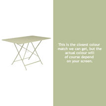 Bistro 117x77 Table - Willow Green