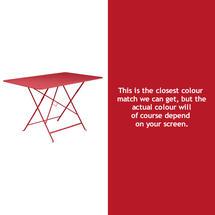 Bistro 117x77 Table - Poppy