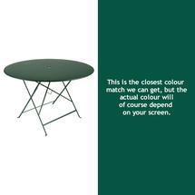 Bistro 117cm Round Table - Cedar Green