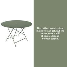 Bistro 117cm Round Table - Cactus