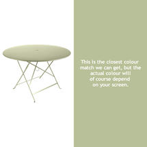 Bistro 117cm Round Table - Willow Green