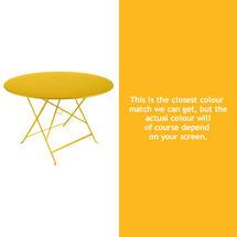 Bistro 117cm Round Table - Honey