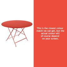 Bistro 117cm Round Table - Capucine
