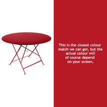 Bistro 117cm Round Table - Poppy