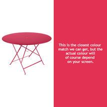 Bistro 117cm Round Table - Pink Praline