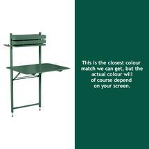 Bistro Balcony Table - Cedar Green