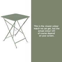 Bistro 57cm Square Table - Cactus