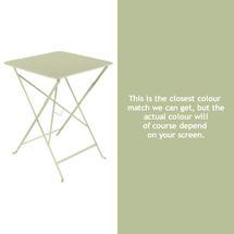 Bistro 57cm Square Table - Willow Green