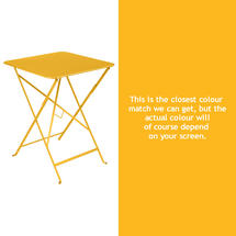 Bistro 57cm Square Table - Honey