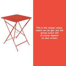 Bistro 57cm Square Table - Capucine