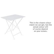 Bistro 77x57 Table - Cotton White