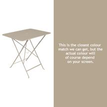 Bistro 77x57 Table - Nutmeg